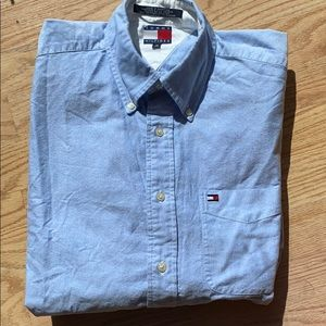 Men's Tommy Hilfiger Medium 100% Cotton Chambray